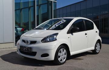 Toyota Aygo 1,0 VVT-i Young bei Neu und Gebrauchtwagen – 4310 Mauthausen, Oberösterreich – Autohaus Reichhart in Ihre Fahrzeugfamilie