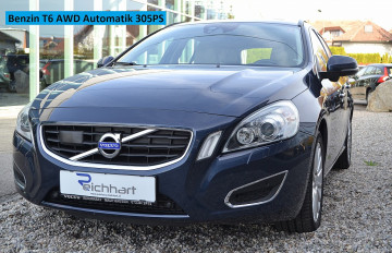 Volvo V60 T6 AWD Summum Geartronic Aut. bei BM || J.Reichhart GmbH in