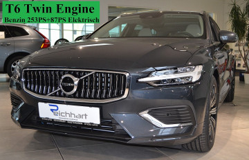 Volvo V60 T6 Twin Engine PHEV Inscription Geartronic bei BM || J.Reichhart GmbH in