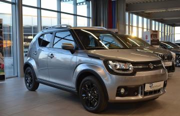 Suzuki Ignis 1,2 DualJet Hybrid shine bei BM || J.Reichhart GmbH in