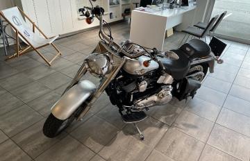 Harley Davidson Fat Boy FLSTF bei BM || J.Reichhart GmbH in