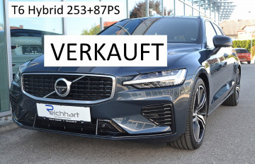 Volvo V60 T6 Twin Engine PHEV R-Design Geartronic bei BM || J.Reichhart GmbH in
