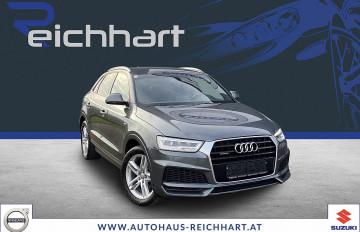 Audi Q3 2,0 TDI Sport quattro bei BM || J.Reichhart GmbH in