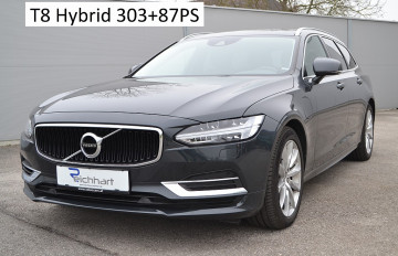 Volvo V90 T8 Twin Engine PHEV Momentum Pro bei BM || J.Reichhart GmbH in